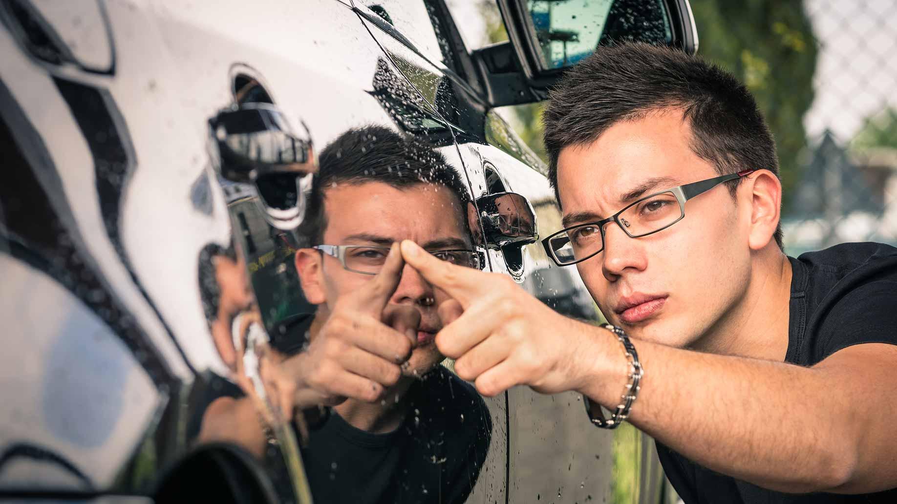Оценка ЛКП автомобиля