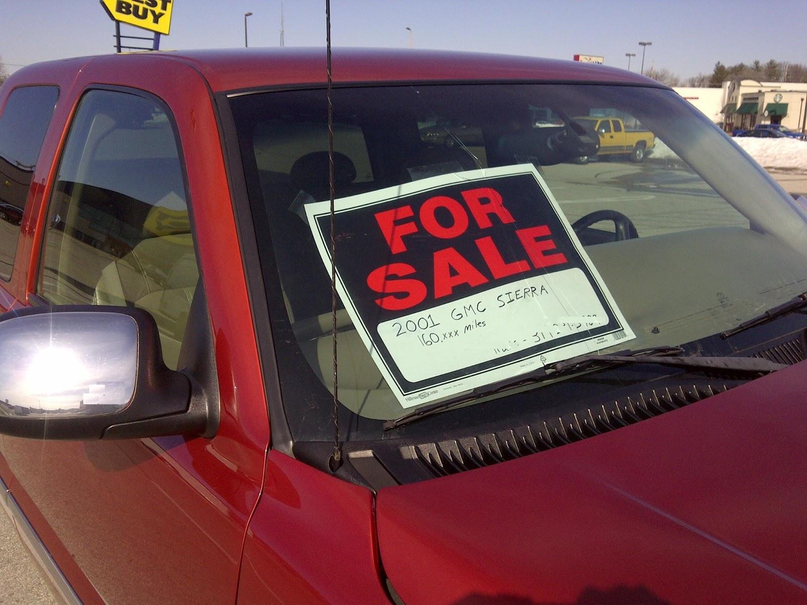 GMC Sierra For Sale 2001