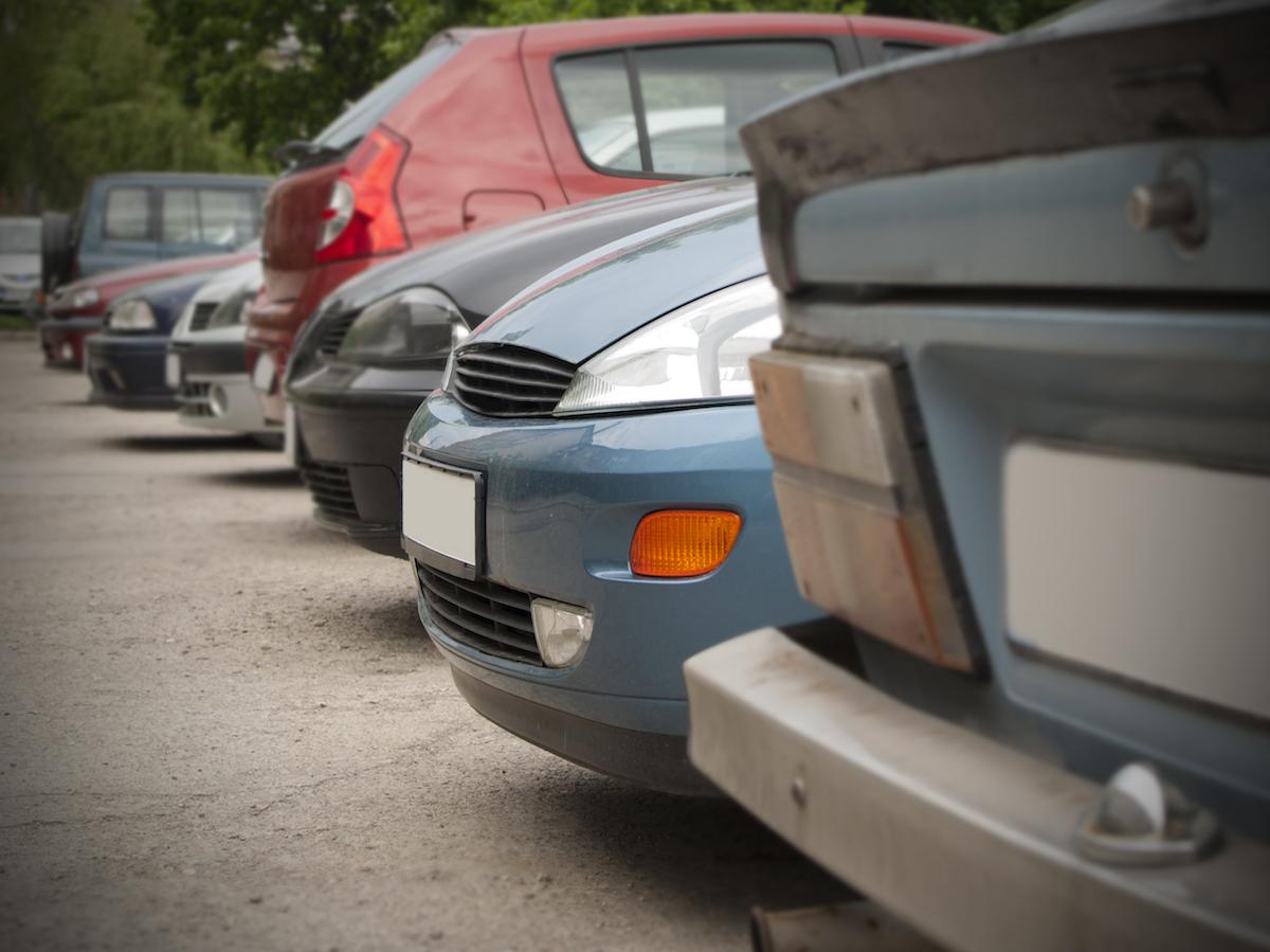 Б/у авто на продажу в ряд