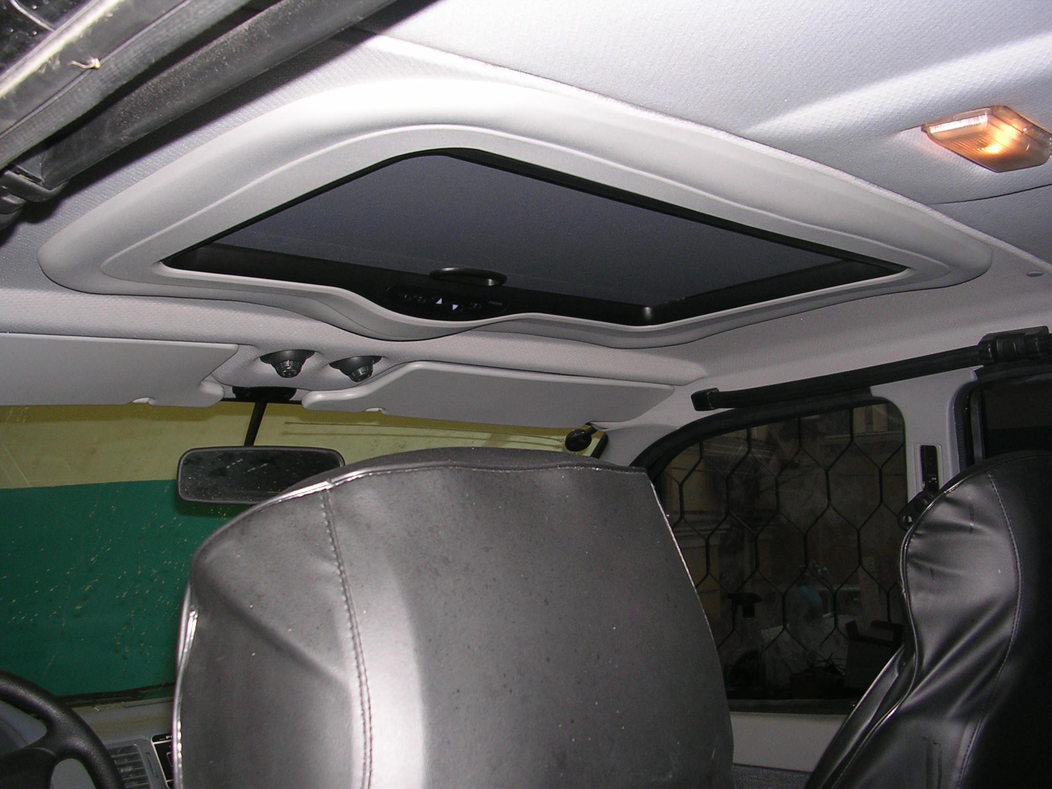 Как сделать люк на крышу автомобиля своими руками 85